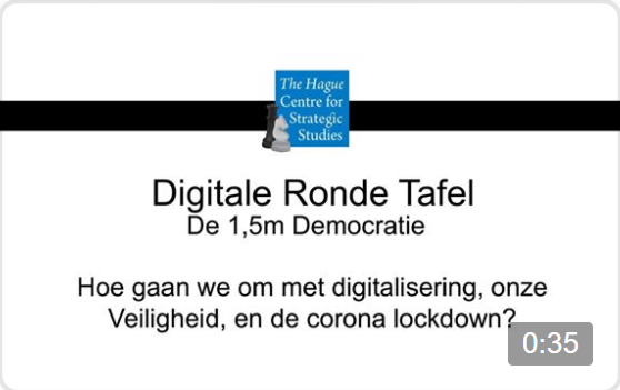 Digitale Ronde Tafel – De 1,5m Democratie – Digitalisering, Veiligheid en de Corona Lockdown [16 april '20]
